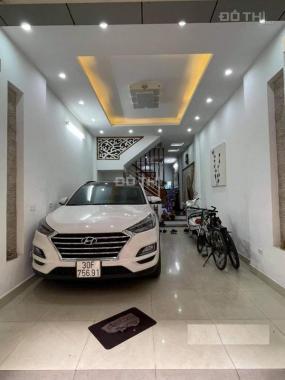 Mặt phố Lương Khánh Thiện - Tân Mai, 55m2, 5 tầng, tiền 4m, lô góc, gara ô tô, KD đỉnh 8.8 tỷ