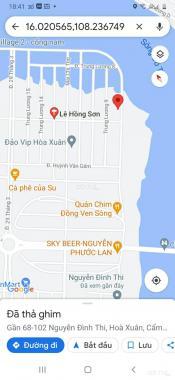 Bán đất tại đường Nguyễn Đình Thi, Phường Hòa Xuân, Cẩm Lệ, Đà Nẵng diện tích 500m2 giá 20.3 tỷ