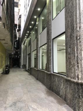 Bán nhà mặt phố Kim Ngưu, DT 75m2 x 7 tầng thang máy, căn góc 3 mặt thoáng, nội thất cao cấp