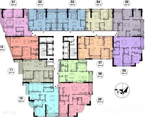 Bán gấp căn hộ cao cấp 2PN dự án Hateco Laroma - Đống Đa, giá chỉ 5,3 tỷ