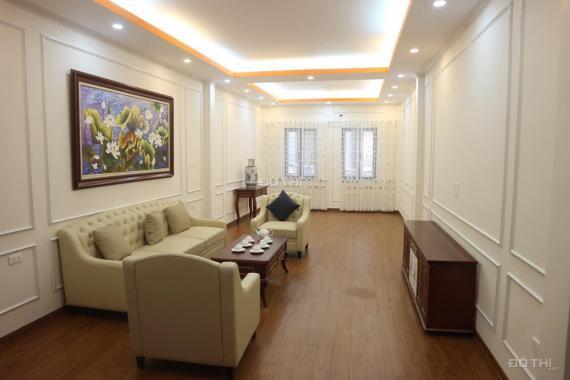 Bán nhà mặt phố Linh Đàm DT 55m2 xây 4 tầng vỉa hè rộng kinh doanh lâu dài
