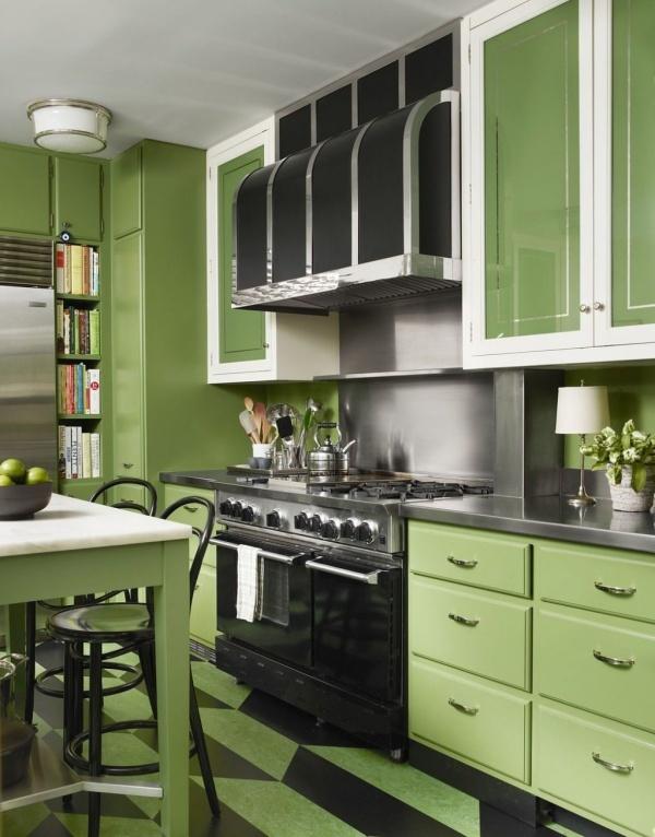 bếp xanh lá