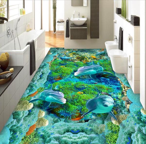 sàn nhà 3D đẹp