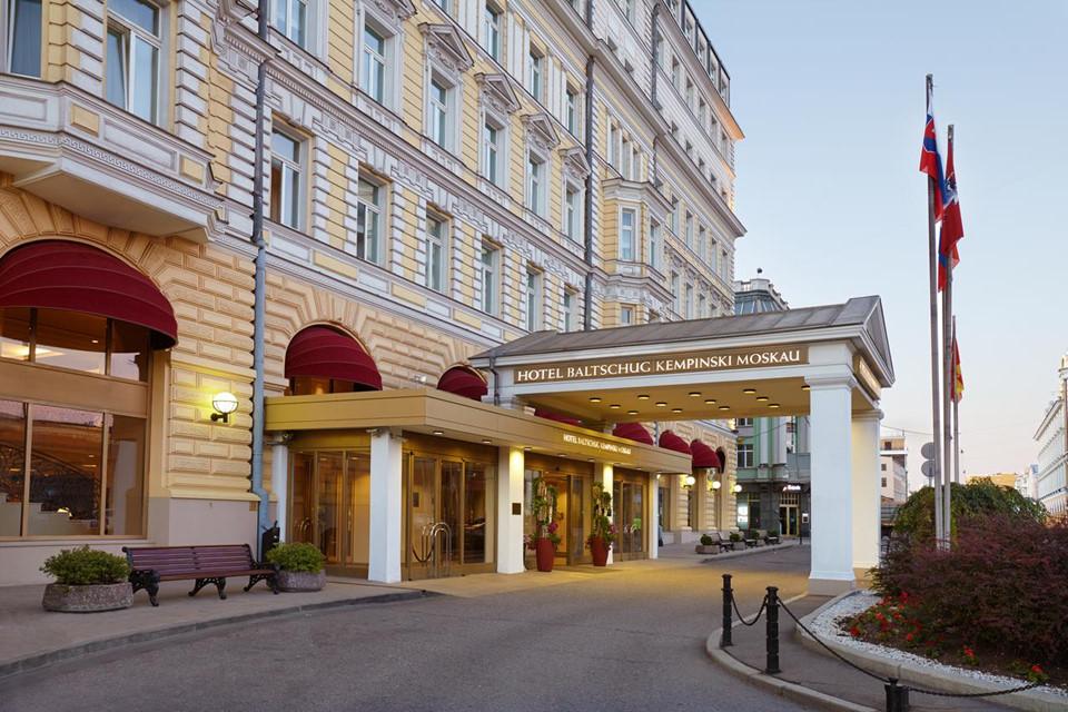 Khách sạn Baltschug Kempinski Moscow
