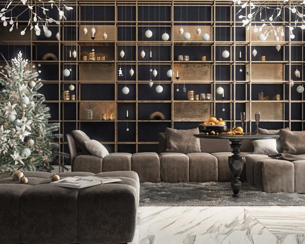 sofa màu nâu nhạt