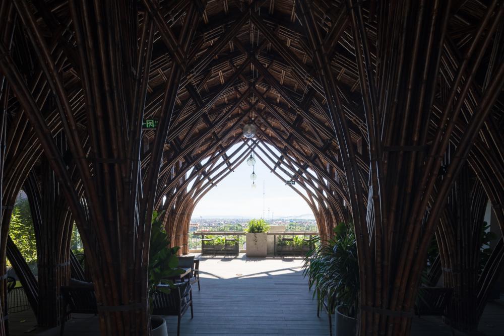 kiến trúc mái vòm khổng lồ