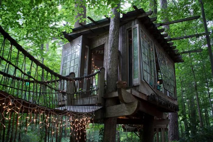 Nhà trên cây ở Atlanta (Georgia) là điểm đến yêu thích của du khách trong mùa hè.
