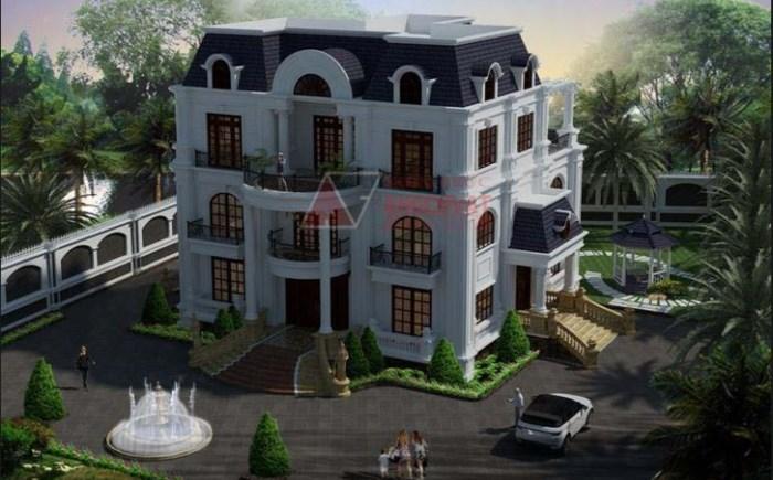 Mẫu mái nhà Marsand là lựa chọn phù hợp với những công trình mang phong cách cổ điển.