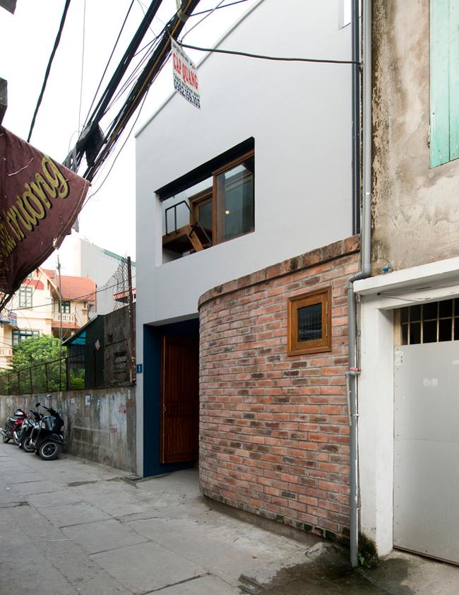 Kiến trúc sư thiết kế ngôi nhà 45m2 theo phong cách hướng nội.