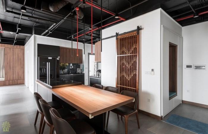 không gian nấu nướng đẹp