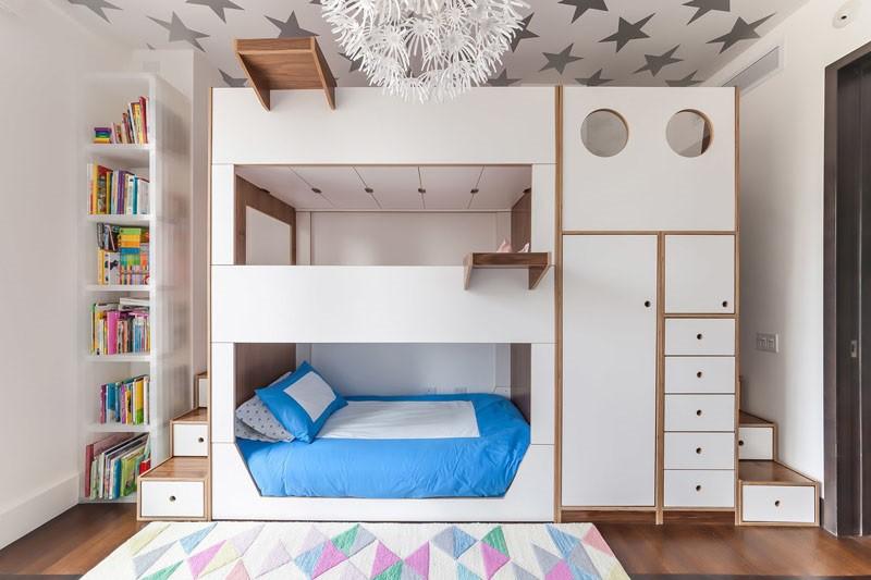 5 mẫu giường tầng tuyệt đẹp dành cho bé