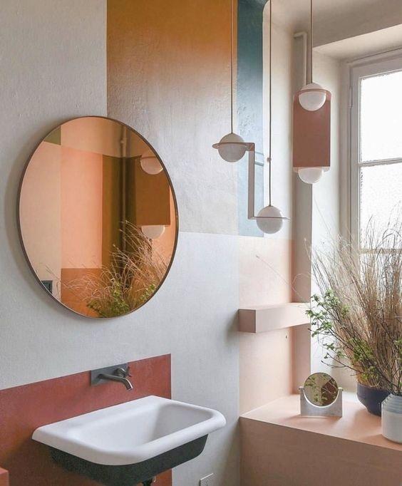 phòng tắm đẹp như tác phẩm nghệ thuật
