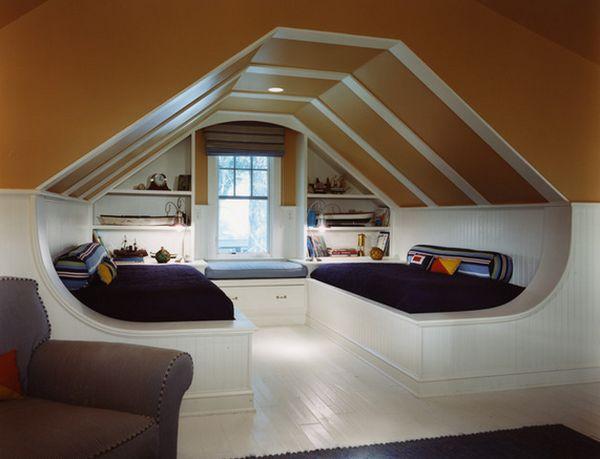 phòng ngủ kết hợp không gian vui chơi