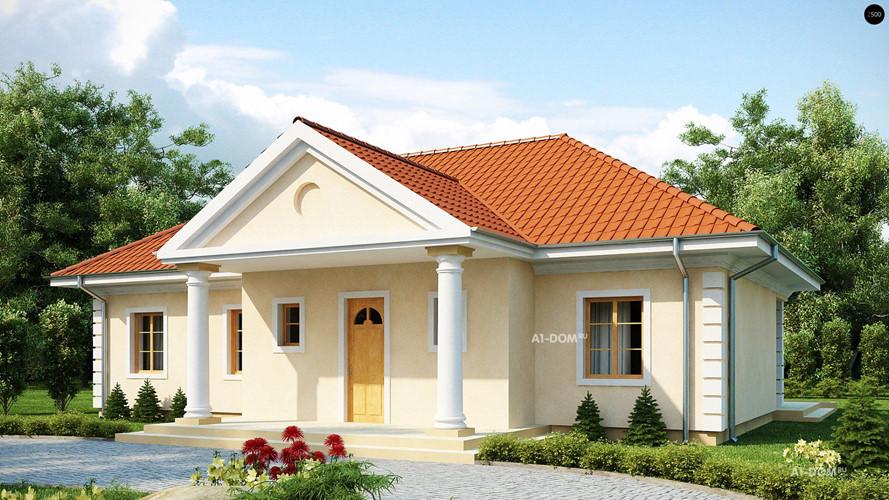 nhà 1 tầng mái Thái đơn giản, sang trọng