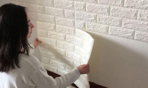 Có nên sử dụng xốp dán tường thay gạch ốp lát không?