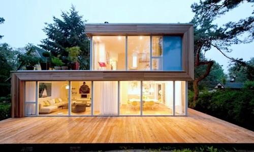 Mẫu nhà container 2 tầng nhỏ xinh