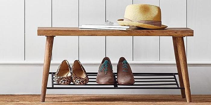 Loạt mẫu giá để giày độc đáo, tiện dụng