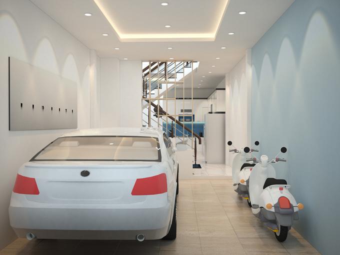 thiết kế gara ô tô