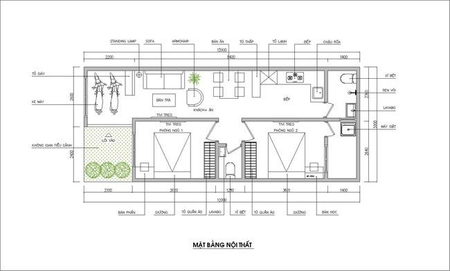 Tư vấn thiết kế nhà cấp 4 thoáng đẹp, tiện nghi và hợp hướng với gia chủ