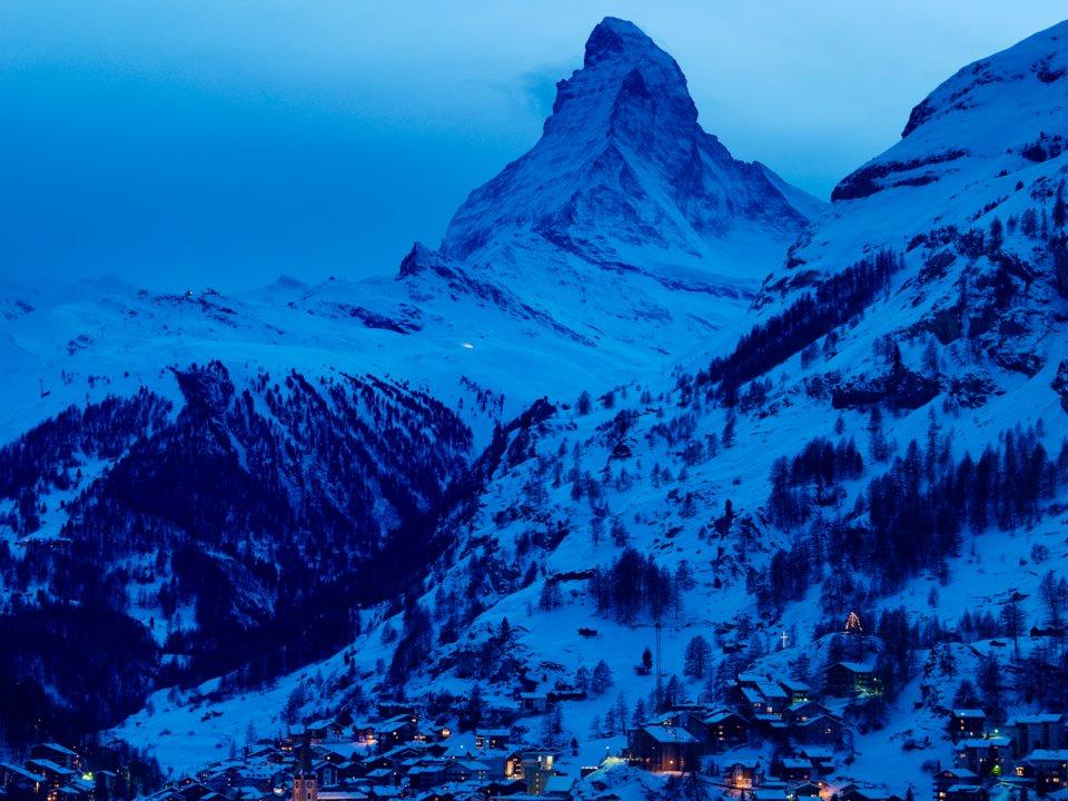 khu trượt tuyết Zermatt