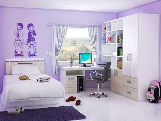 phòng ngủ bé gái