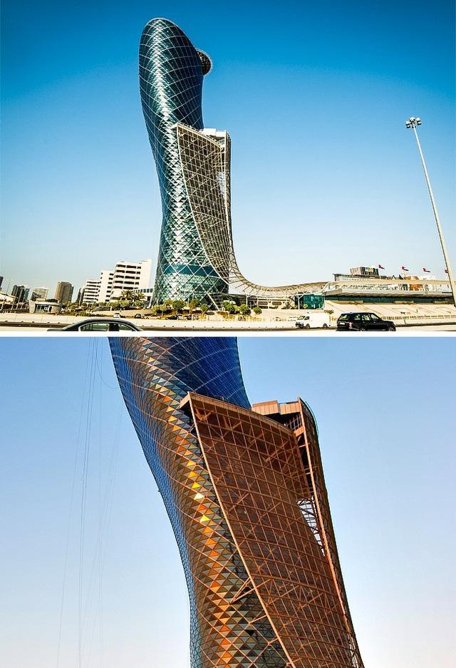 tòa tháp nghiêng nhất thế giới