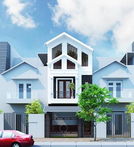 nhà ống mái Thái