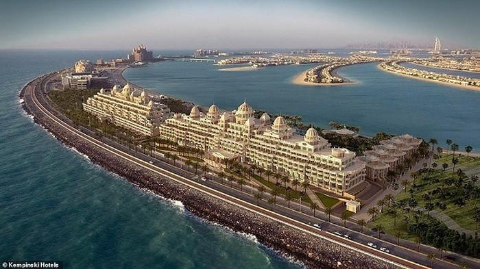khách sạn độc đáo ở Dubai