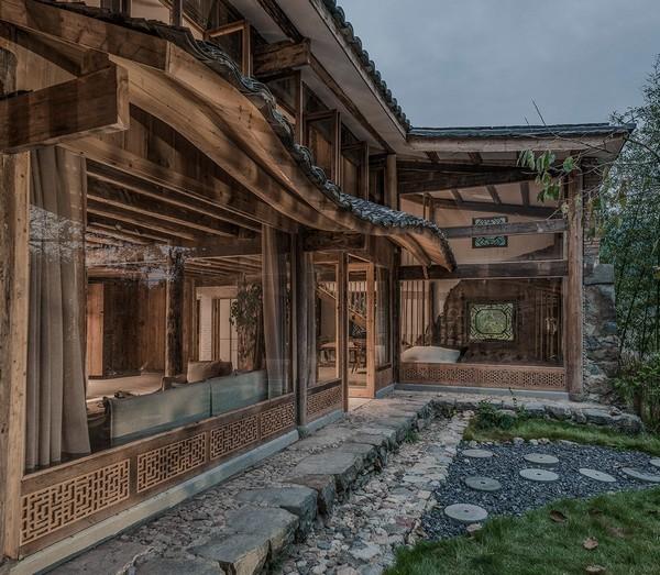 ngôi nhà mang phong cách Trung Quốc cổ xưa