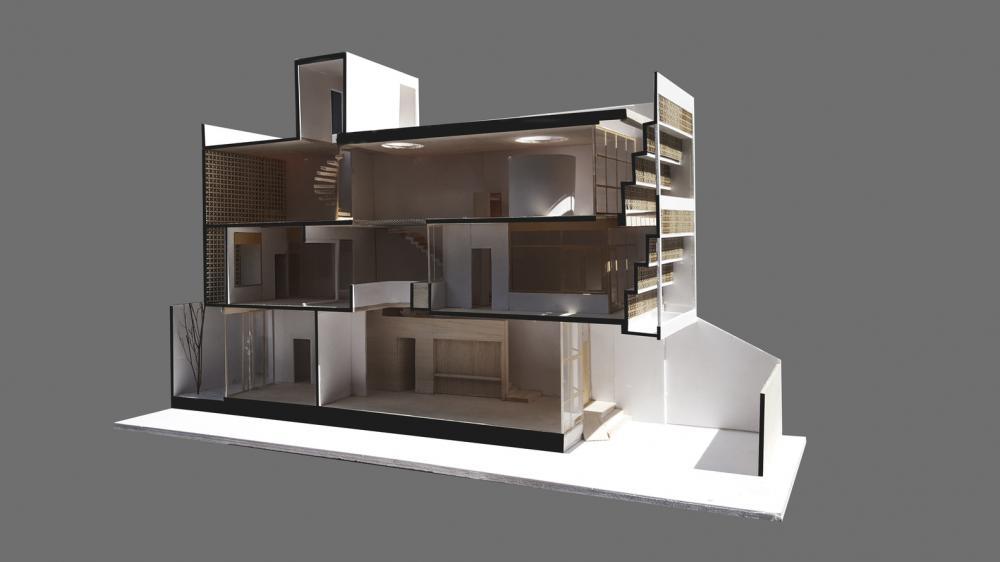 mô hình nhà