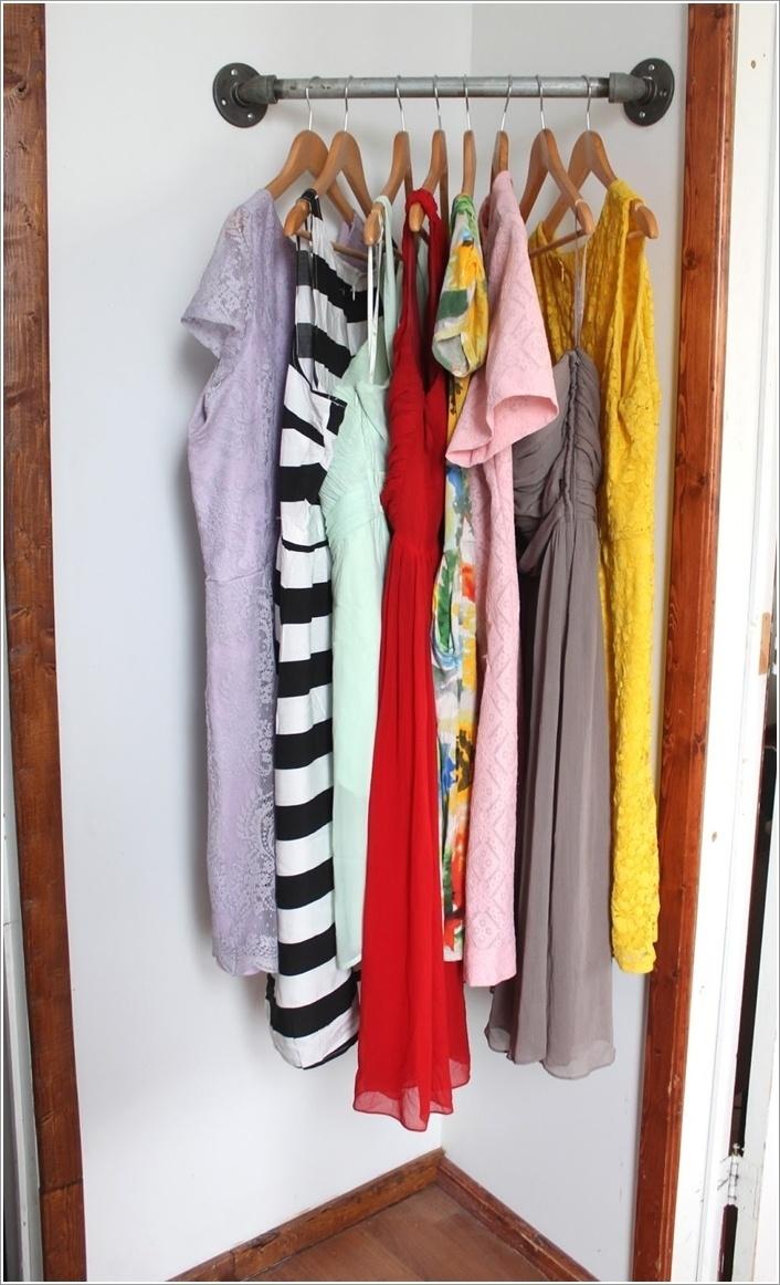 góc treo đồ trong phòng ngủ