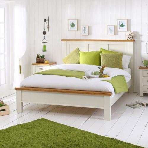 giường gỗ phong cách hàn