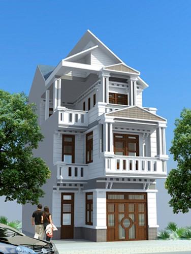 10 mẫu nhà phố hiện đại được xây trên diện tích 6x15m