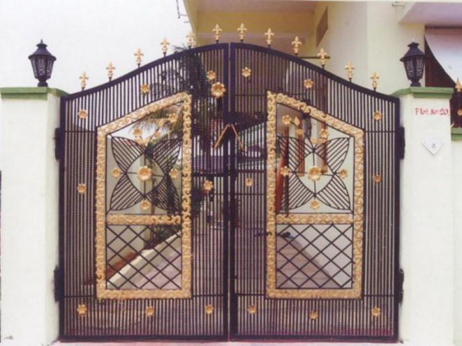 cổng họa tiết