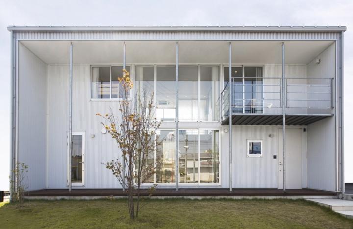 ngôi nhà tối giản