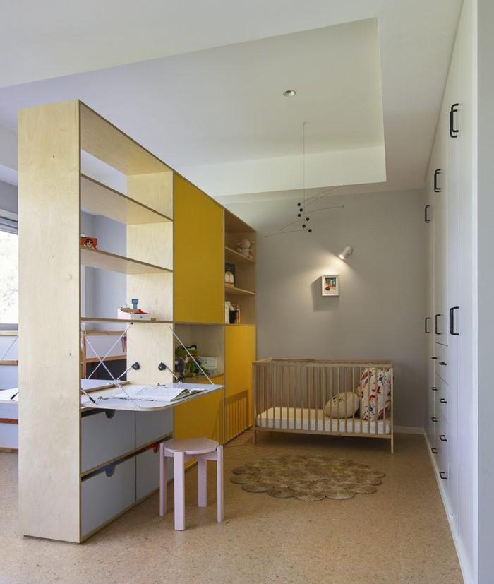 nội thất đa năng trong phòng bé