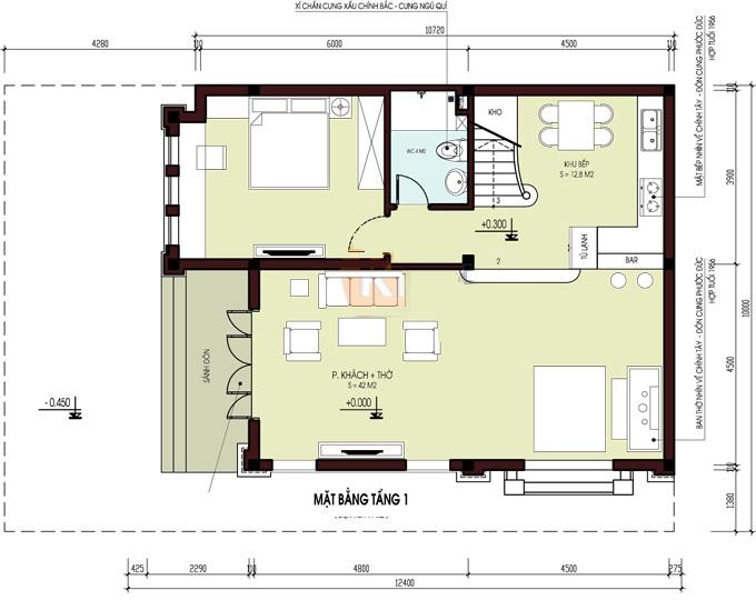 Gợi ý thiết kế biệt thự 2 tầng theo phong cách cách tân