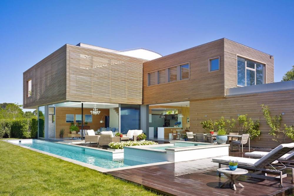 Ngôi nhà hiện đại được thiết kế và bài trí thân thiện với môi trường