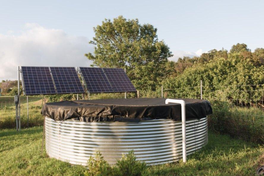 hệ thống tích trữ nước mưa
