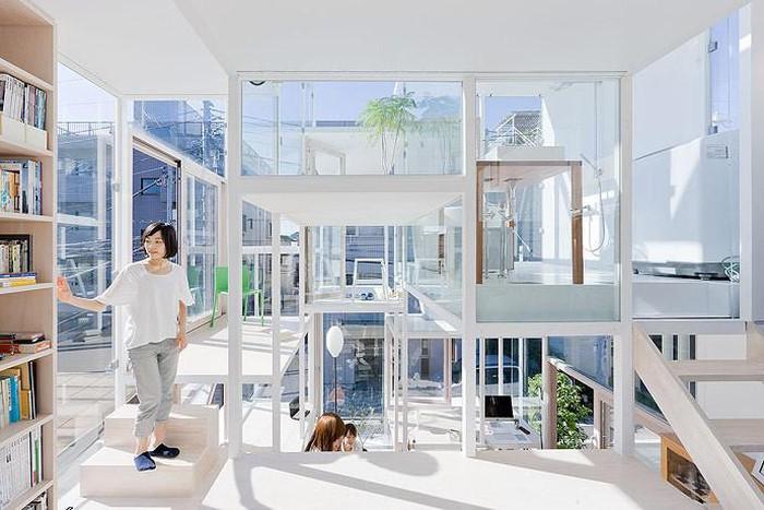 không gian sống độc đáo trong nhà kính ở Nhật