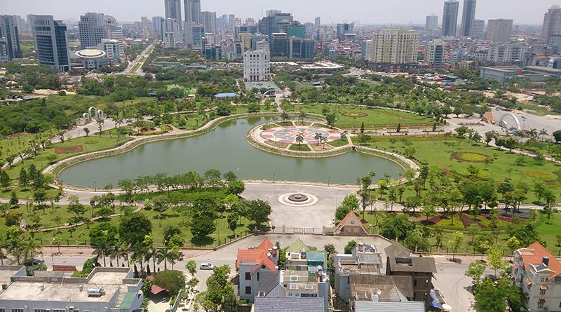 Chính phủ yêu cầu Hà Nội xem xét, giải quyết việc xén đất công viên làm bãi đỗ xe