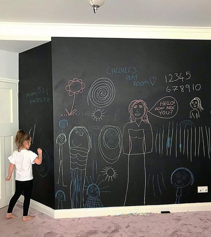 sơn tường bảng đen