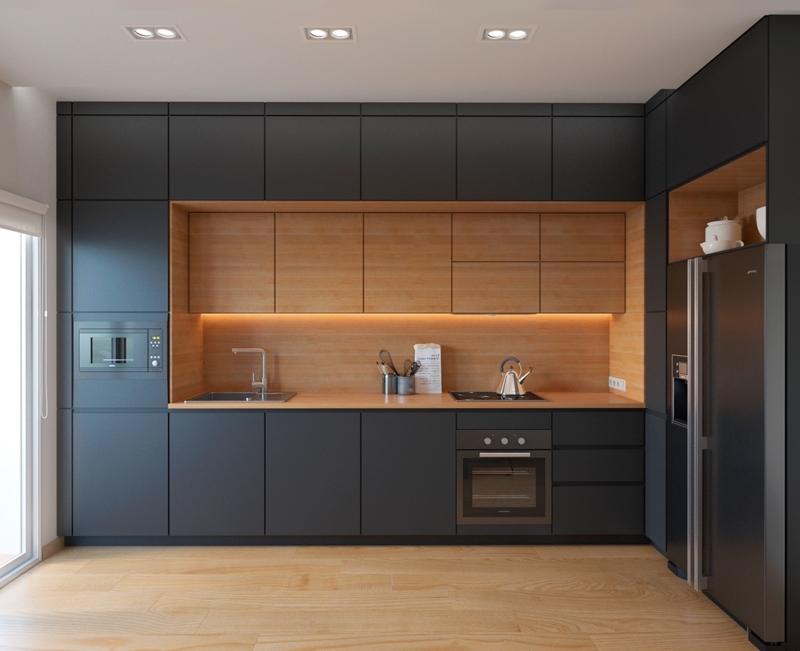 tủ bếp được thiết kế riêng