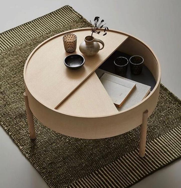 bàn cà phê nhỏ gọn