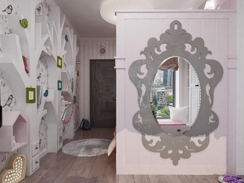 gương soi trong phòng ngủ