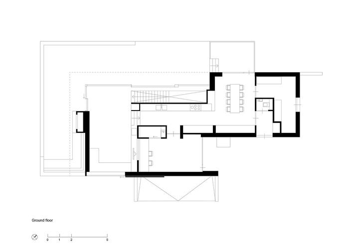 mặt bằng nội thất ngôi nhà