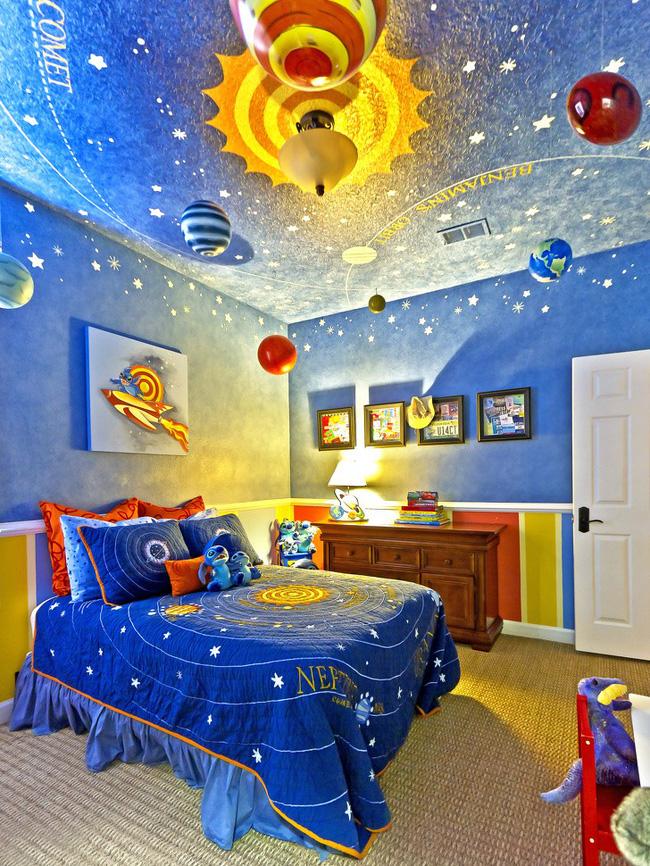 mẫu phòng ngủ đẹp cho trẻ