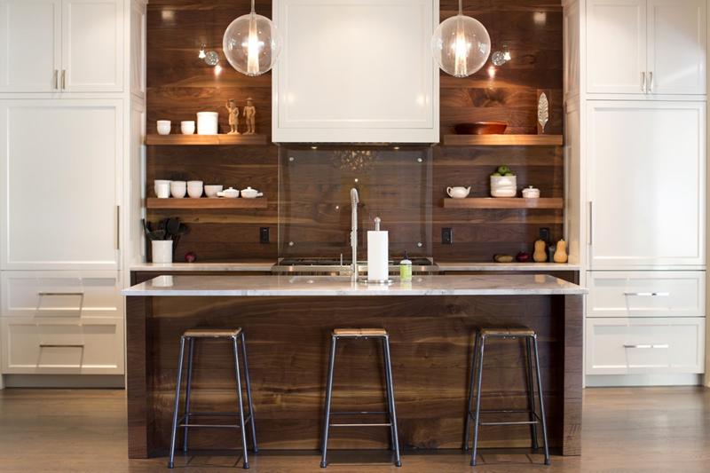 phòng bếp trong căn hộ chung cư