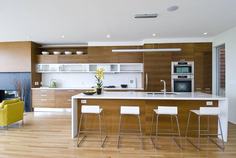 mẫu phòng bếp hiện đại, tối giản