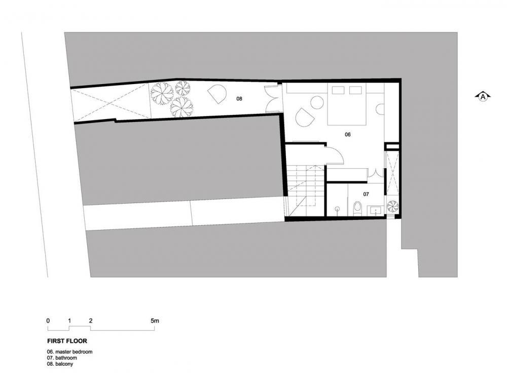 Bản vẽ thiết kế mặt bằng tầng 2